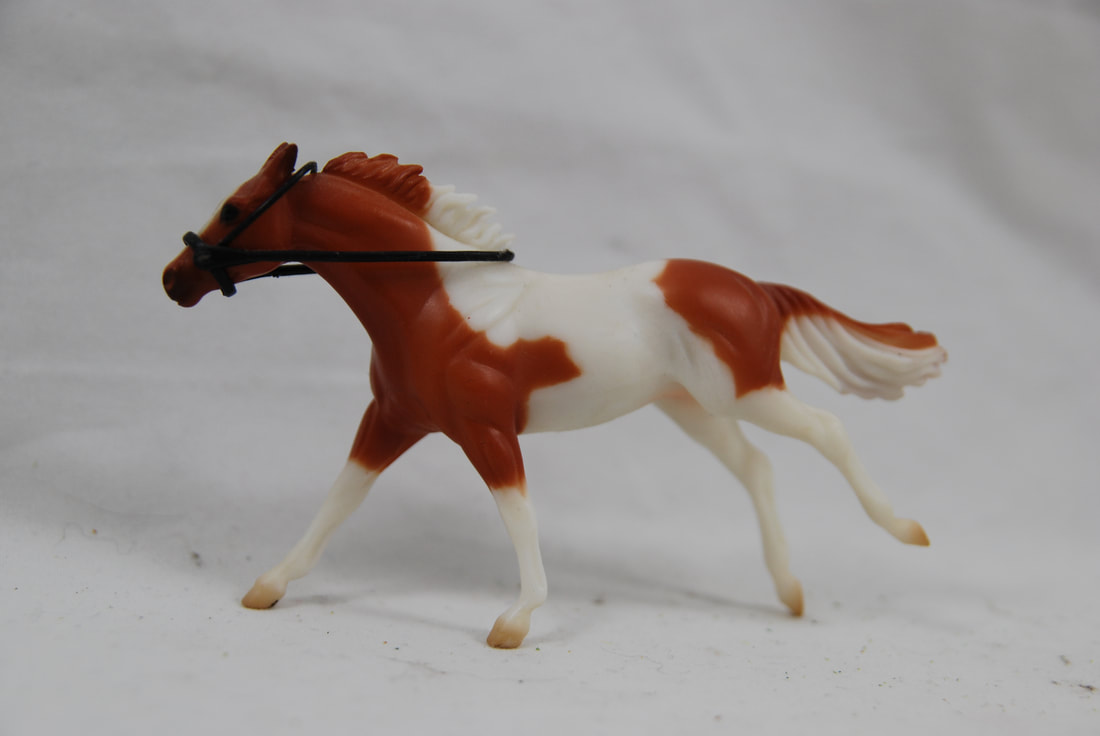 Breyer 5203 English Rider and Saddle Set